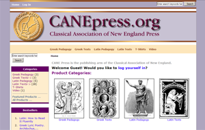 CANE Press is the publishing arm of the Classical Association of New England.