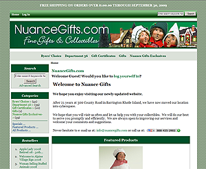 New Online Store for Nuance Gifts